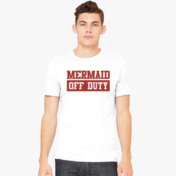 a29bf1a9a Mermaid Off Duty Men's T-shirt - Customon