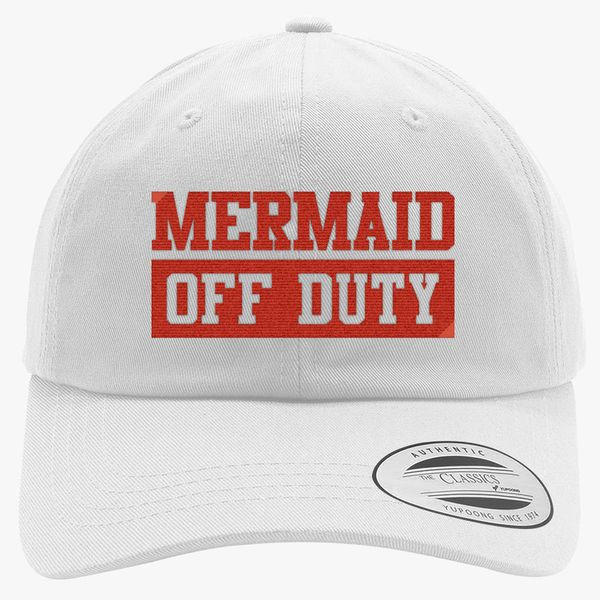 7ed5eaede5b1d Mermaid Off Duty Cotton Twill Hat (Embroidered) - Customon