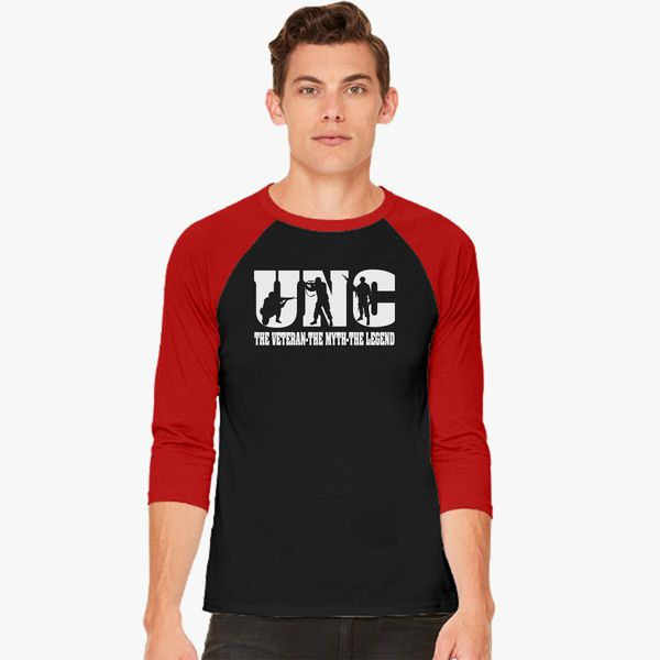 81ad7358d Uncle Dad The Veteran The Man The Legend Baseball T-shirt ...