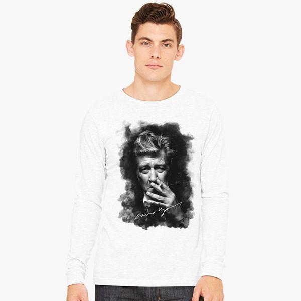 David Lynch Long Sleeve T-shirt - Customon
