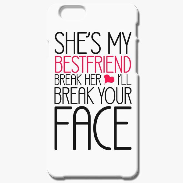 hot sale online 44ebd 4ef54 She is my best friend iPhone 6/6S Case - Customon
