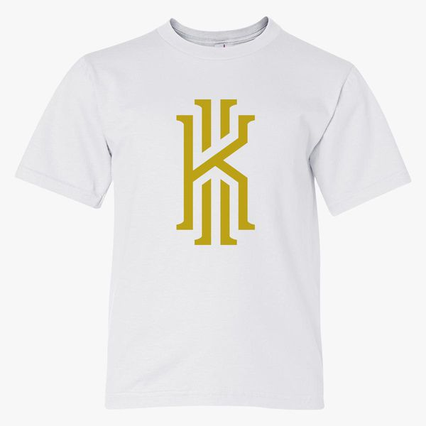 the latest 8bd8f 78aa7 Kyrie Irving logo gold Youth T-shirt - Customon