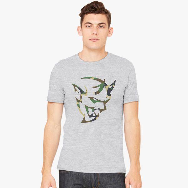 dodge demon face camo Men's T-shirt - Customon