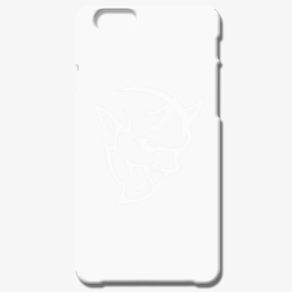 premium selection 1c4ea e0678 dodge demon face white iPhone 7 Plus Case - Customon