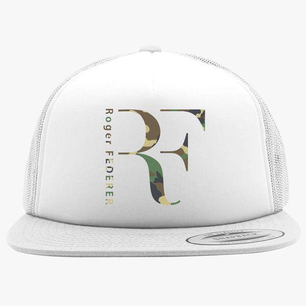 Roger FEDERER - Camo Foam Trucker Hat  6d69bdf7789