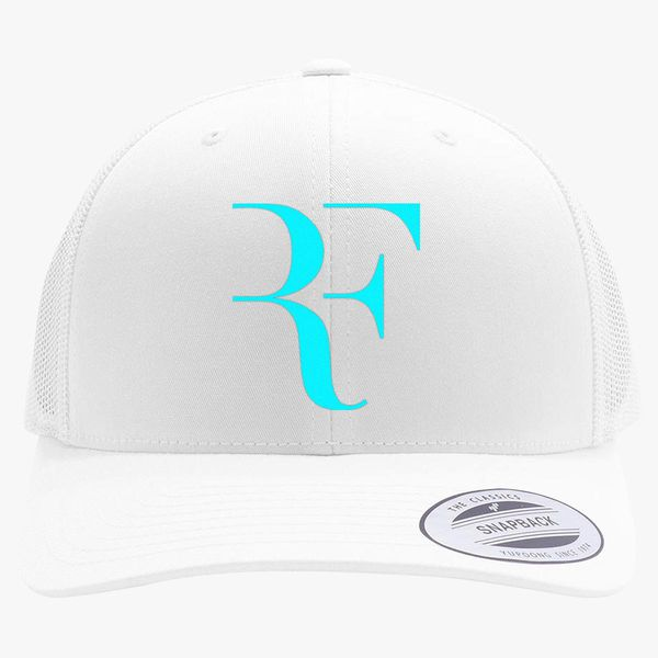 3091a1502a37b Roger FEDERER Retro Trucker Hat (Embroidered) - Customon