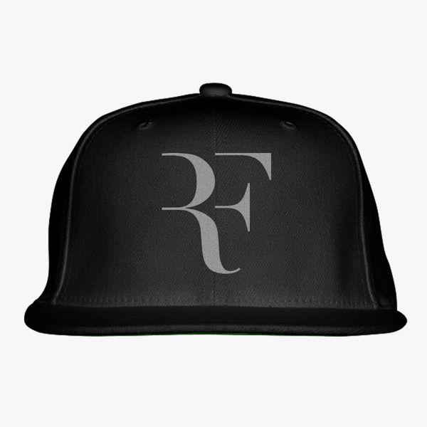 6f58e2ee3f5 Roger FEDERER silver Snapback Hat (Embroidered) - Customon
