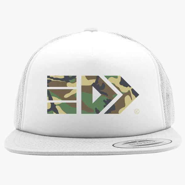 1fad54a0cb3 Splatoon Takoroka - Camo Foam Trucker Hat