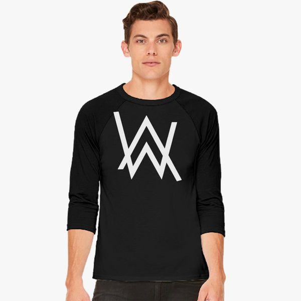 2fa22b704 Alan Walker Logo Baseball T-shirt - Customon