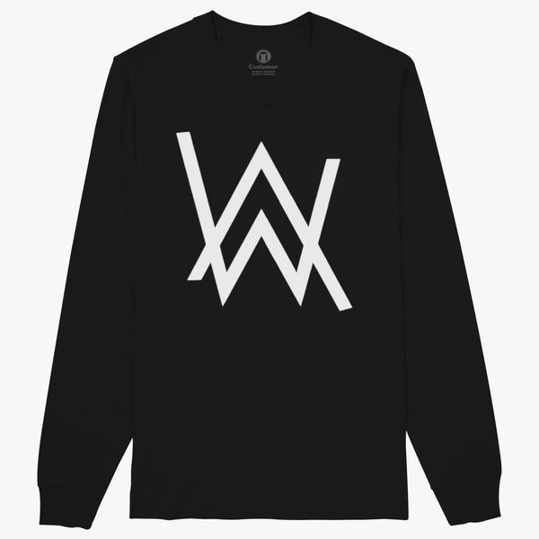 71b5004f1 Alan Walker Logo Long Sleeve T-shirt - Customon
