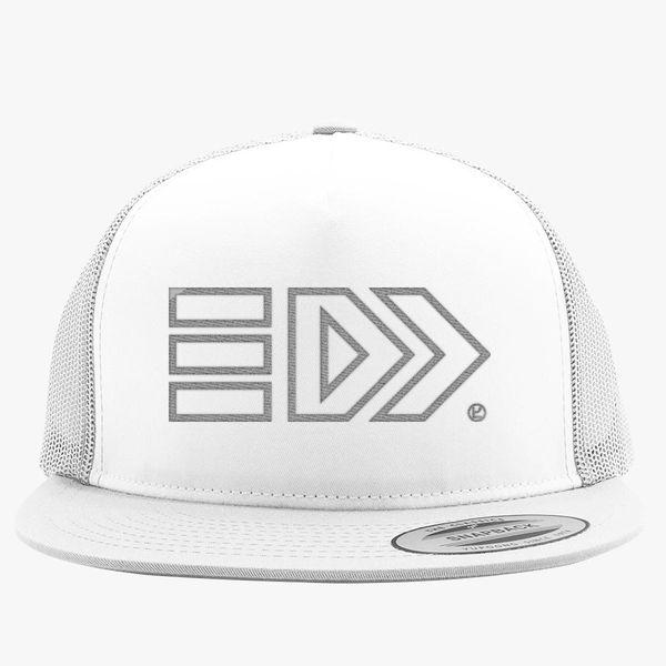 6052c5ccb95 Splatoon Takoroka - Silver Trucker Hat (Embroidered) - Customon