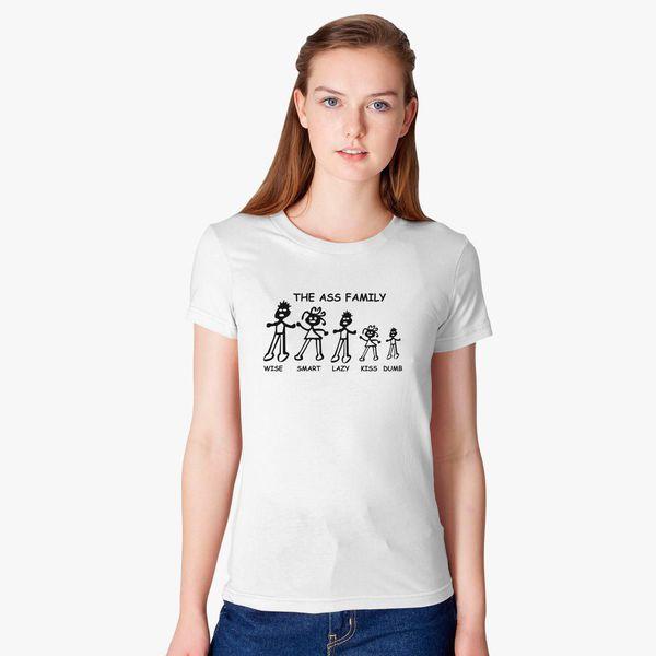 Buy Ass Family Women's T-shirt, 8008