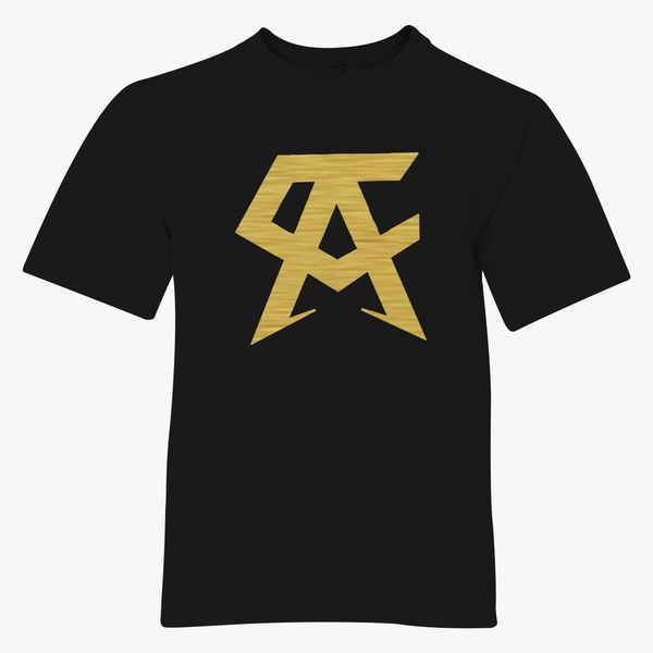 8f0d2931b CANELO ALVAREZ - CA- GOLD Youth T-shirt - Customon