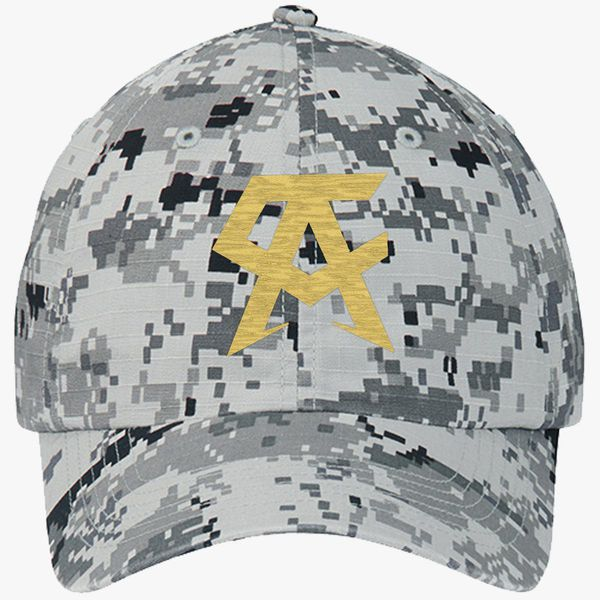 d9e85f9fd CANELO ALVAREZ - CA- GOLD Ripstop Camouflage Cotton Twill Cap (Embroidered)  - Customon