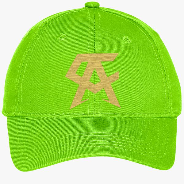 41df30eb7 CANELO ALVAREZ - CA- GOLD Youth Six-Panel Twill Cap (Embroidered) - Customon