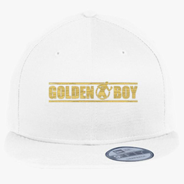 acbbb7442 CANELO ALVAREZ - GOLDEN BOY - GOLD New Era Snapback Cap (Embroidered) -  Customon