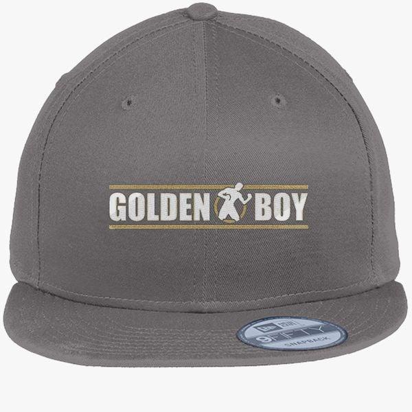 fba8f3cb89b4b CANELO ALVAREZ - GOLDEN BOY - WHITE New Era Snapback Cap - Embroidery