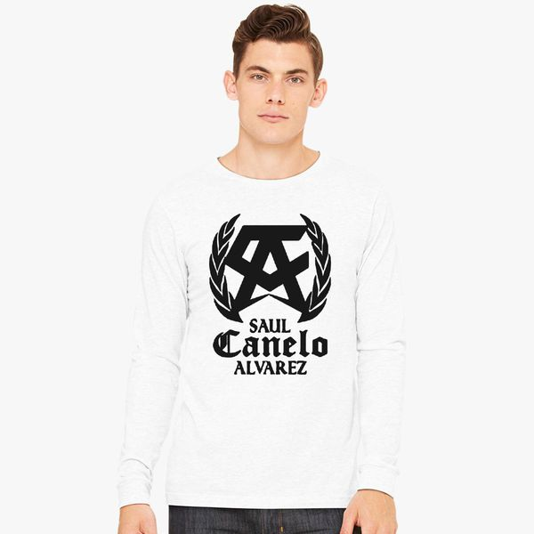 e113f4fda033 SAUL CANELO ALVAREZ - BLACK Long Sleeve T-shirt - Customon