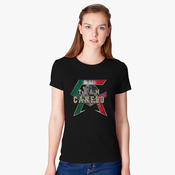 4849fdea6 TEAM CANELO - CANELO ALVAREZ Women's T-shirt - Customon