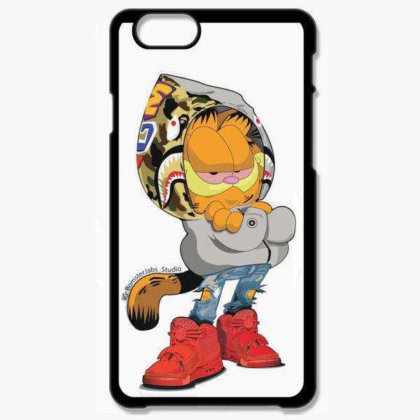Garfield X Supreme X Bape iphone case