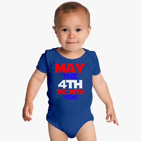 May The Fourth Be With You Baby Shower: May The 4th Be With You Baby Onesies