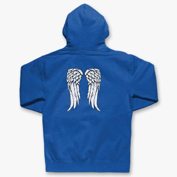 462564b5826 Daryl Dixon Angel Wings in the back Unisex Hoodie - Customon