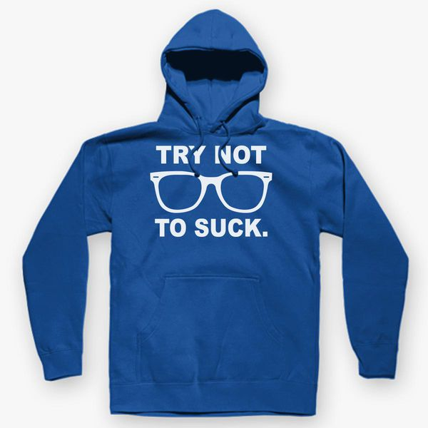 Try Not to Suck Christmas Unisex Crew Sweatshirt