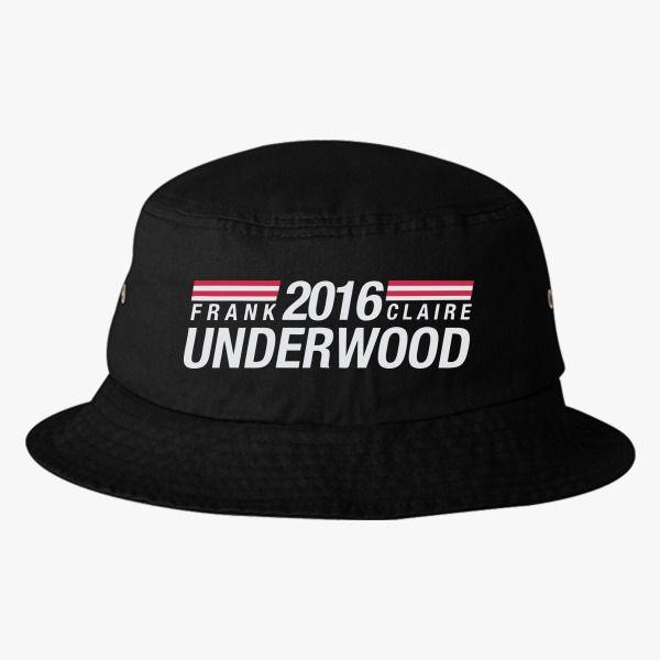 b77bb8bdbe8 ... real frank claire underwood 2016 bucket hat 309fa 8593e