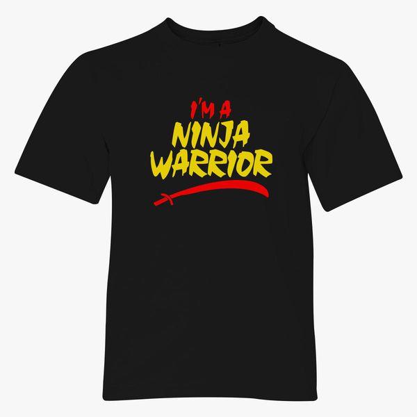 Ninja Warrior Of Roblox 21 Im A Ninja Warrior Youth T Shirt Customon