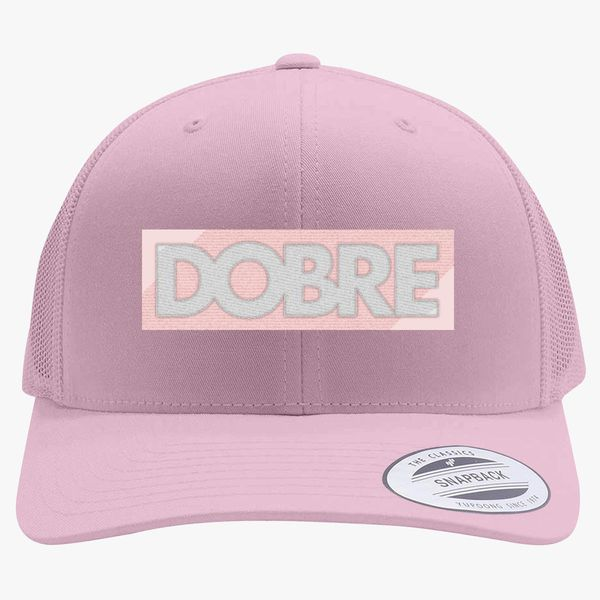 4cad66ab4b3d3 Dobre Twins Retro Trucker Hat - Embroidery Change style