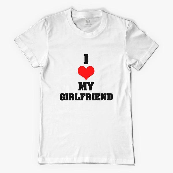 Boyfriend Girlfriend Valentine S Day Couple T Shirts Women S T Shirt