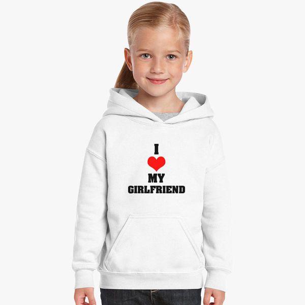 Boyfriend Girlfriend Valentine S Day Couple T Shirts Kids Hoodie