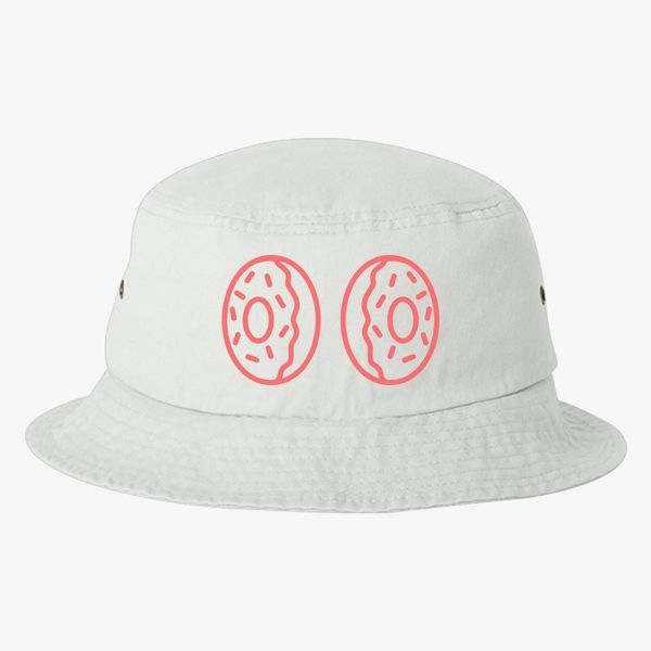 Donut boobs Bucket Hat (Embroidered)  7538285e760