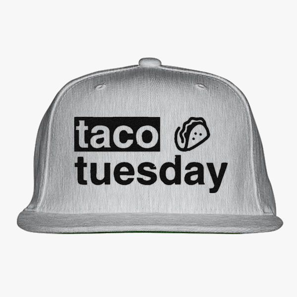 Taco Tuesday Snapback Hat - Embroidery +more bd318121d55