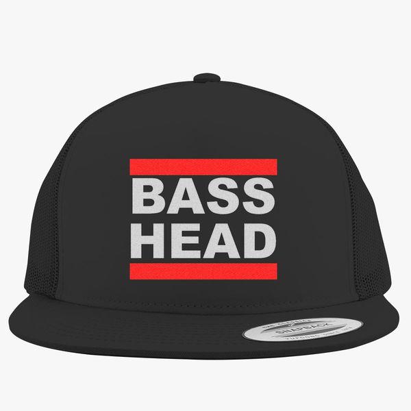 Bassnectar Bass Head Trucker Hat (Embroidered)  cc5f589e120