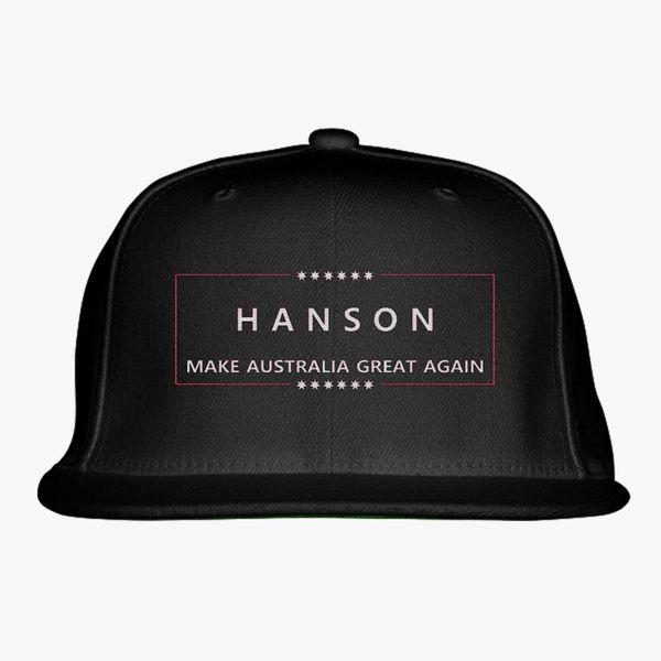 HANSON MAGA Snapback Hat - Embroidery +more 9a4b71d3b9e