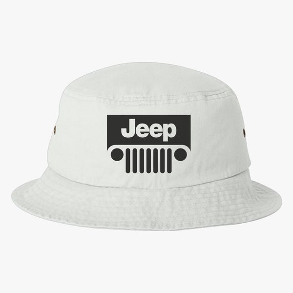 Jeep Face Bucket Hat (Embroidered)  ba4cbb5c67d