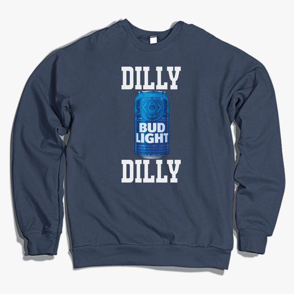 dilly dilly bud light crewneck sweatshirt