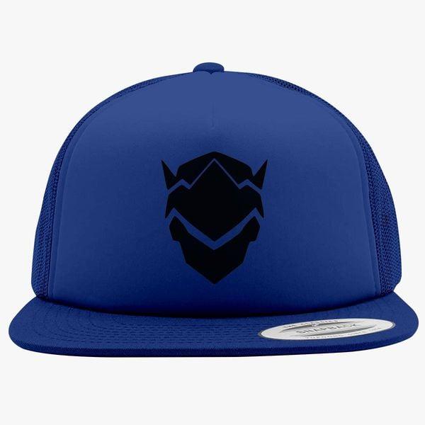 Genji Overwatch Foam Trucker Hat ... b57cbbfcd65c