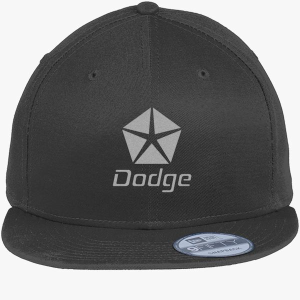 Dodge Logo New Era Snapback Cap (Embroidered)  b12734d5678