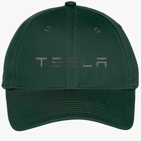 Tesla Youth Six-Panel Twill Cap - Embroidery +more a02c496ce15