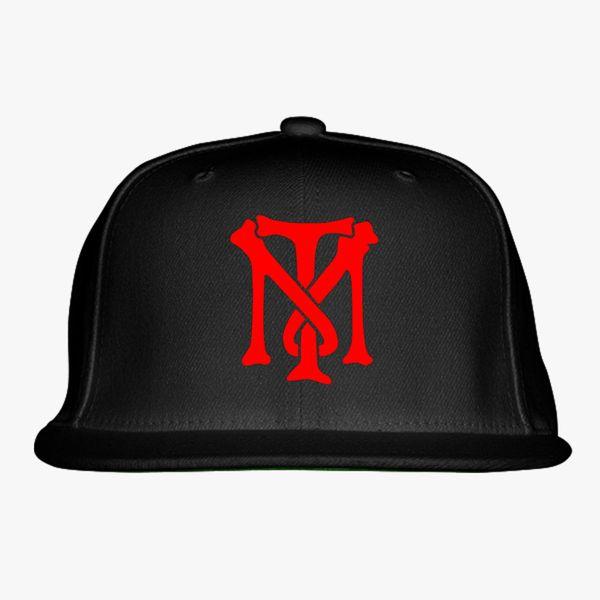 Scarface Tony Montana Bone Logo Snapback Hat Embroidered