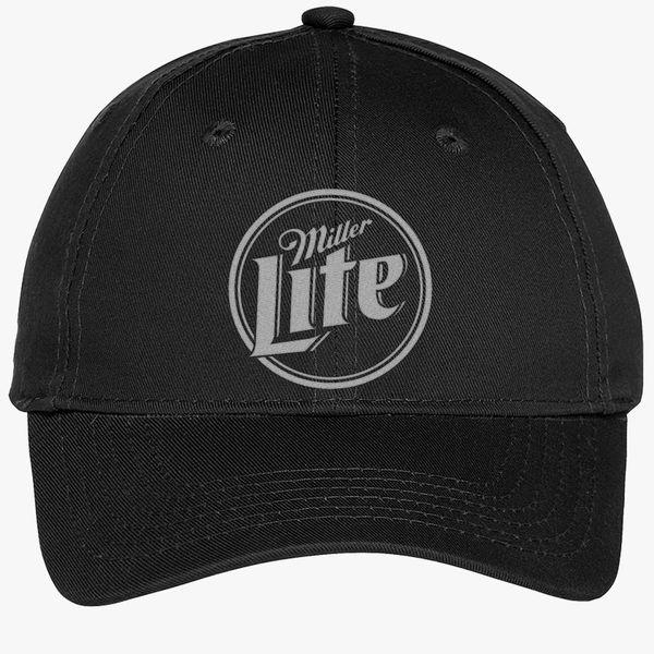 12e99e75e8 Miller Lite Youth Six-Panel Twill Cap (Embroidered)   Customon.com