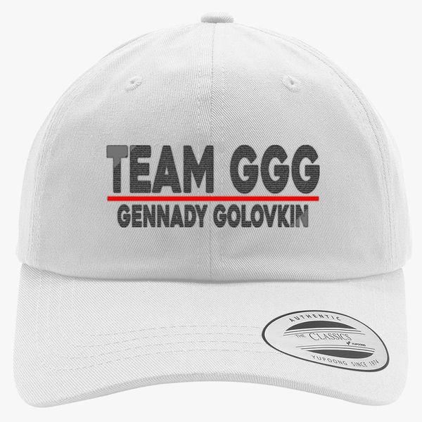Team GGG Gennady Golovkin Cotton Twill Hat - Embroidery +more 32f2da4da5d9
