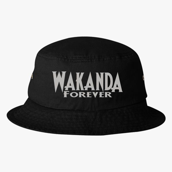 Wakanda Forever Bucket Hat - Embroidery +more f5c5bf87bf9