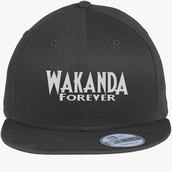 Wakanda Forever New Era Snapback Cap - Embroidery ... 3db2728bb768