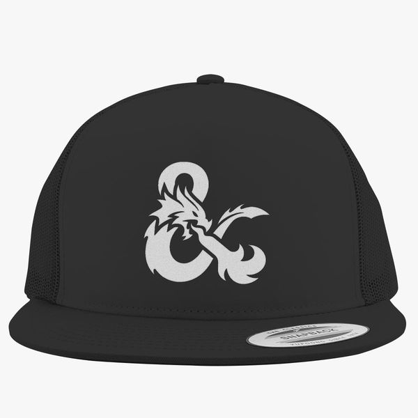 4cf298785d2 Dungeons and Dragons Logo Trucker Hat (Embroidered)