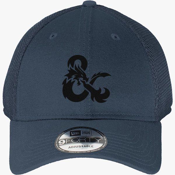 6b05014d623 Dungeons and Dragons Logo New Era Baseball Mesh Cap (Embroidered ...