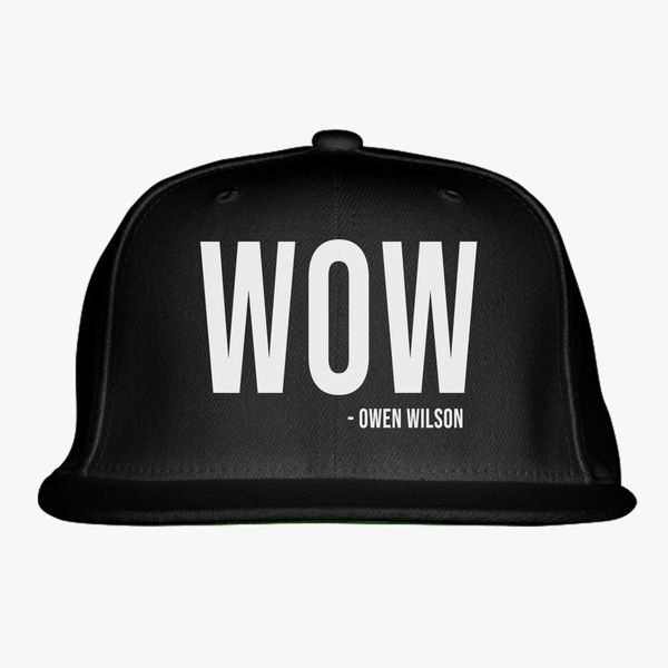 Owen Wilson Wow Snapback Hat  dca9ab80204