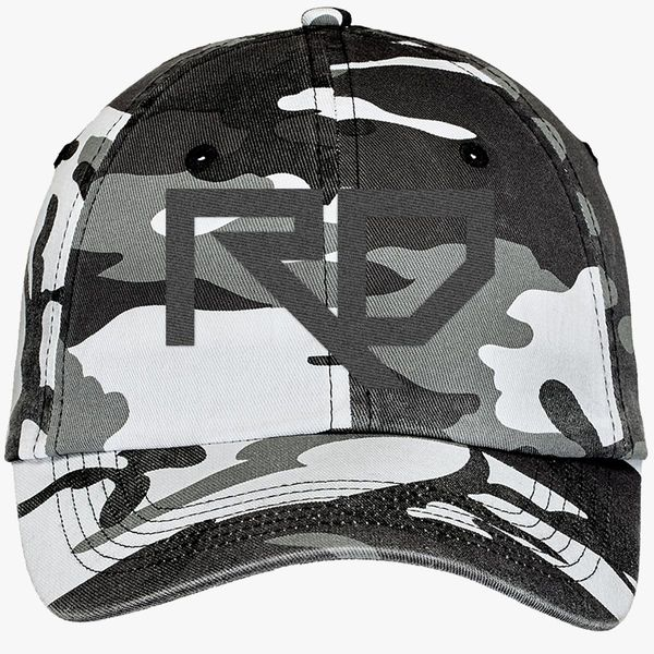 riddim dubstep rd Camouflage Cotton Twill Cap - Embroidery +more 87327ed04226